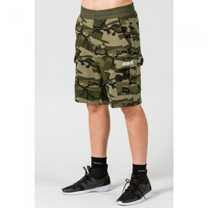 [해외]GSA OrganicPlus+ Cotton Camo Cargo Shorts 7138192725 Chaki