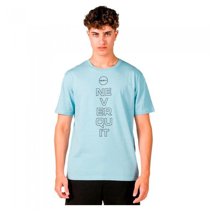 [해외]GSA OrganicPlus+ Cotton Printed Short Sleeve T-Shirt 7138192733 Aqua