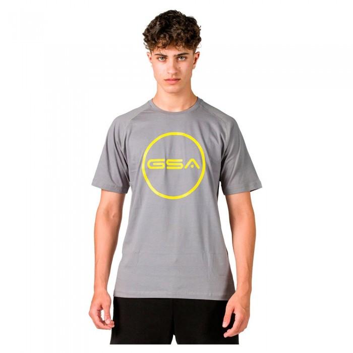 [해외]GSA Superlogo Circle Short Sleeve T-Shirt 7138192743 Grey