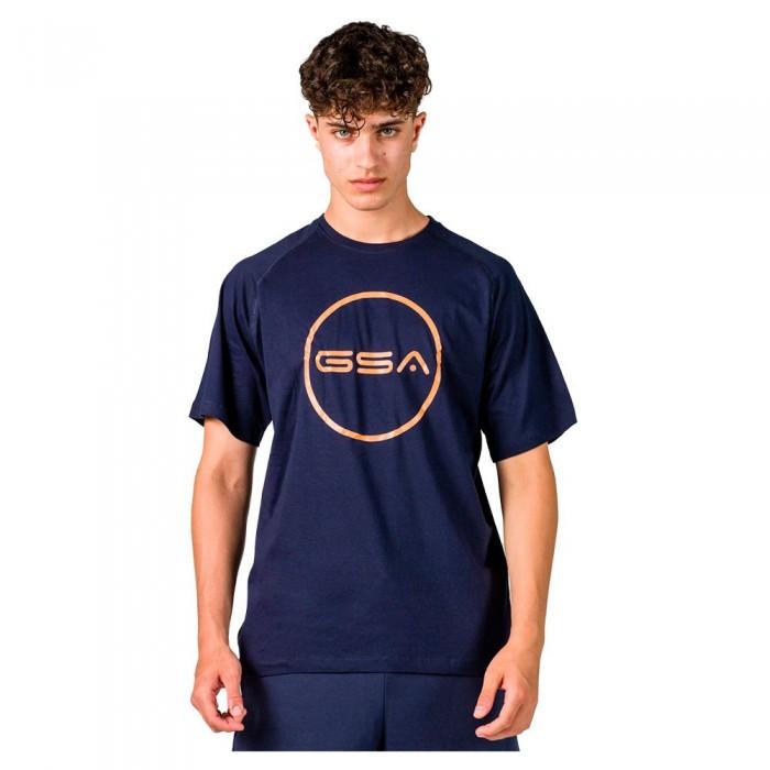 [해외]GSA Superlogo Circle Short Sleeve T-Shirt 7138192744 Navy
