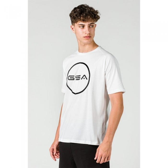 [해외]GSA Superlogo Circle Short Sleeve T-Shirt 7138192745 White