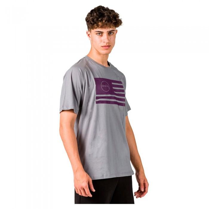 [해외]GSA Superlogo Flag Short Sleeve T-Shirt 7138192749 Grey