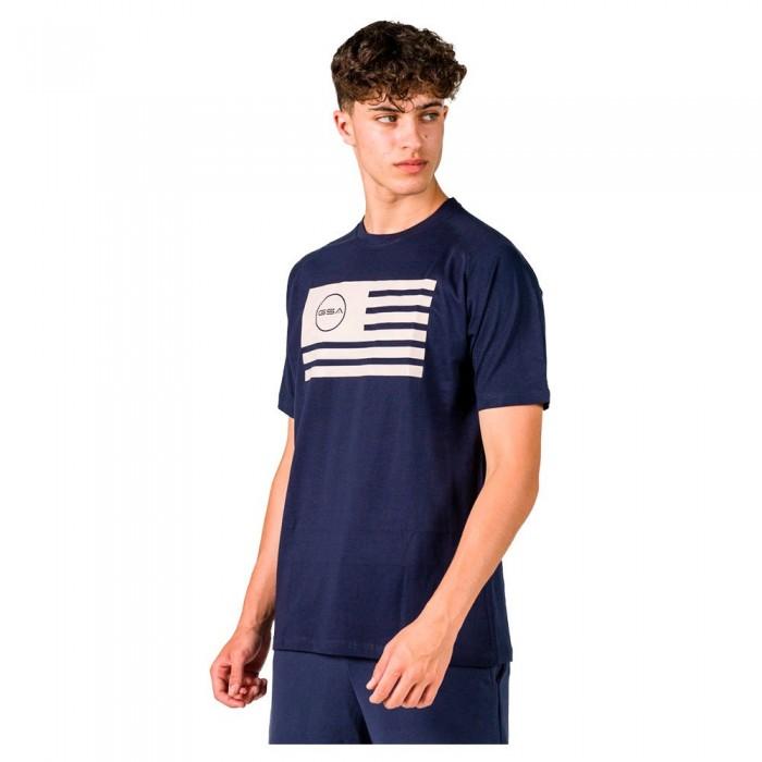 [해외]GSA Superlogo Flag Short Sleeve T-Shirt 7138192750 Navy