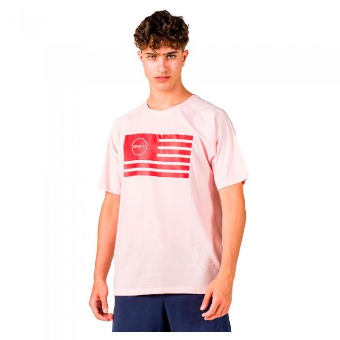 [해외]GSA Superlogo Flag Short Sleeve T-Shirt 7138192751 Pink