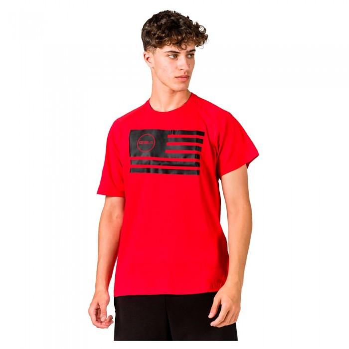 [해외]GSA Superlogo Flag Short Sleeve T-Shirt 7138192752 Red