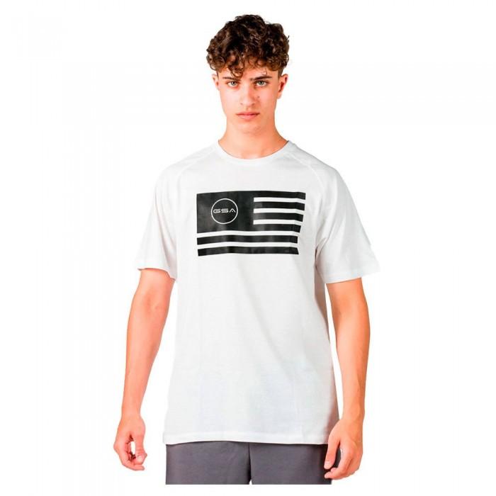 [해외]GSA Superlogo Flag Short Sleeve T-Shirt 7138192753 White