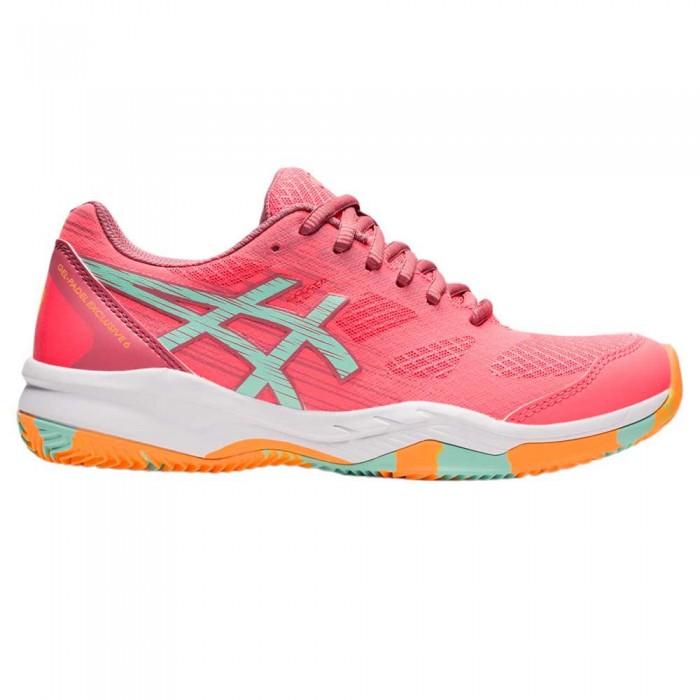 [해외]아식스 Gel-Exclusive 6 Shoes 12138131670 Blazing Coral / Fresh Ice