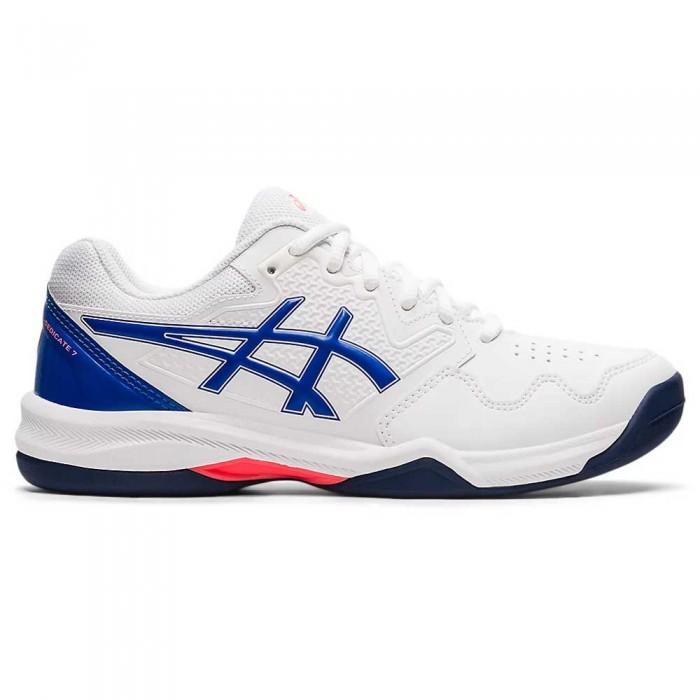 [해외]아식스 Gel-Dedicate 7 Shoes 12138131847 White / Lapis Lazuli Blue