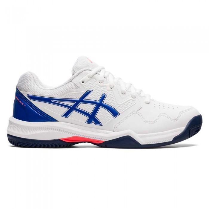 [해외]아식스 Gel-Dedicate 7 Shoes 12138131851 White / Lapis Lazuli Blue