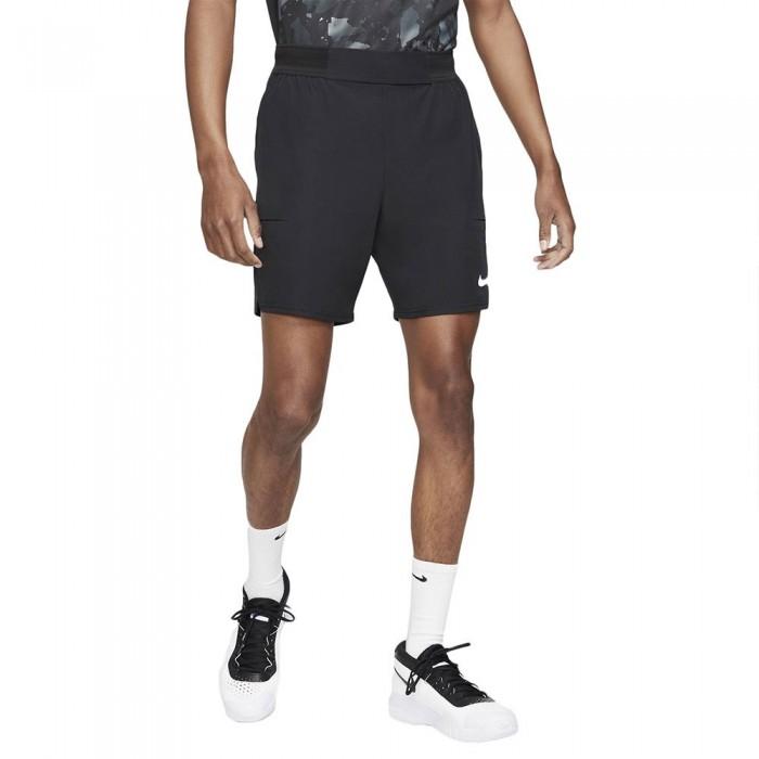 [해외]나이키 Court Dri Fit Advantage Short Pants 12137983848 Black / White