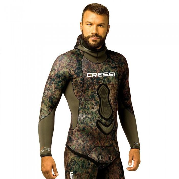 [해외]크레시 Seppia Spearfishing Jacket 7 mm Refurbished 10138225273 Camouflage