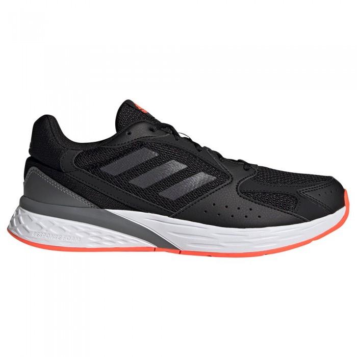 [해외]아디다스 Response Run Running Shoes 6138104640 Core Black / Carbon / Iron Metalic
