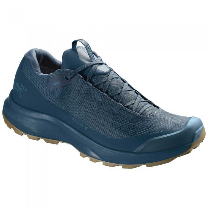 [해외]아크테릭스 Aerios FL Goretex Hiking Shoes 6138143373 Timelapse / Wavelength