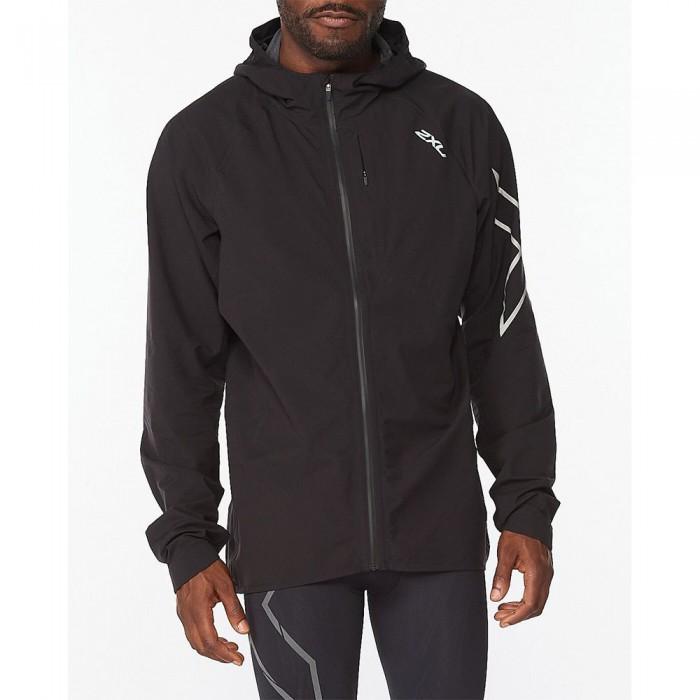 [해외]2XU Light Speed WP Jacket 6138230911 Black / Silver Reflective