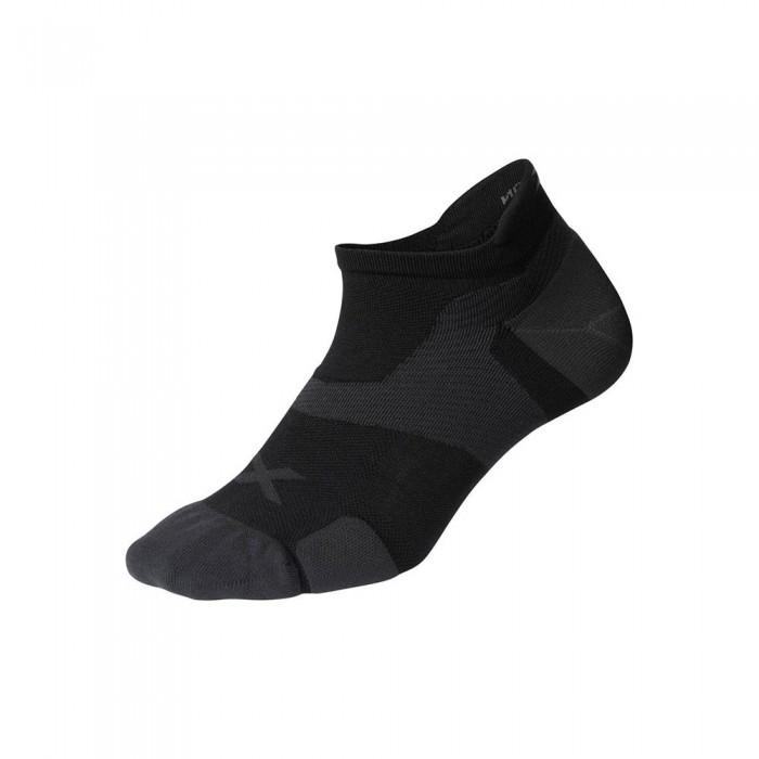 [해외]2XU Vector Cushion Short Socks 6138230989 Black / Titanium
