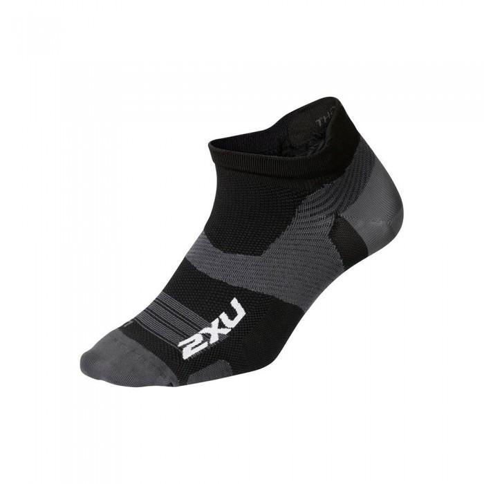 [해외]2XU Vector Ultralight Short Socks 6138230998 Black / Titanium