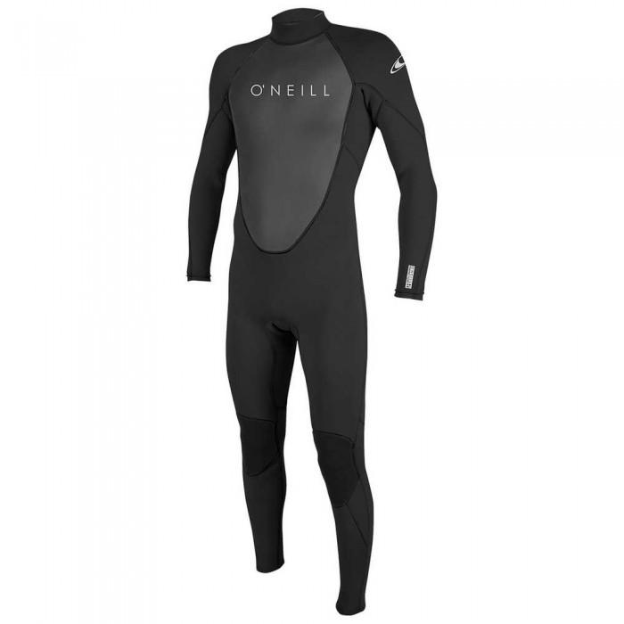 [해외]오닐 웻슈트 Reactor II 5/3 mm Back Zip Suit Boy 14137953206 Black / Black / Black