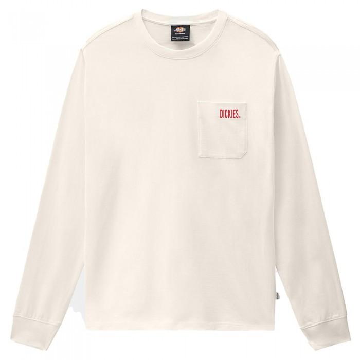 [해외]DICKIES Storden Long Sleeve T-Shirt 14138164694 Ecru