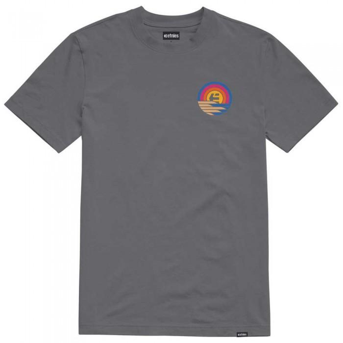 [해외]에트니스 Sunset Wash Short Sleeve T-Shirt 14138166060 Dark Grey