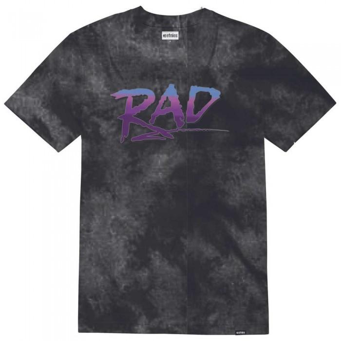 [해외]에트니스 Rad Wash Short Sleeve T-Shirt 14138166099 Black / Purple
