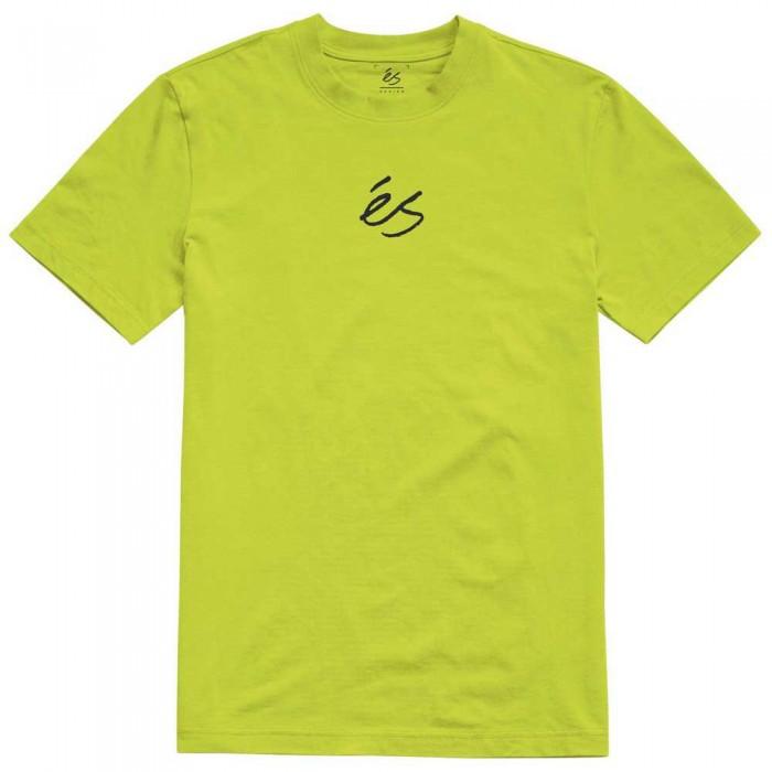 [해외]ES Mini Script Short Sleeve T-Shirt 14138166180 Lime