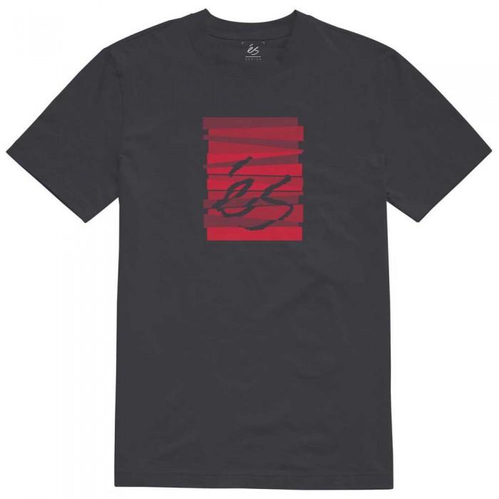 [해외]ES Shutter Block Short Sleeve T-Shirt 14138166181 Black