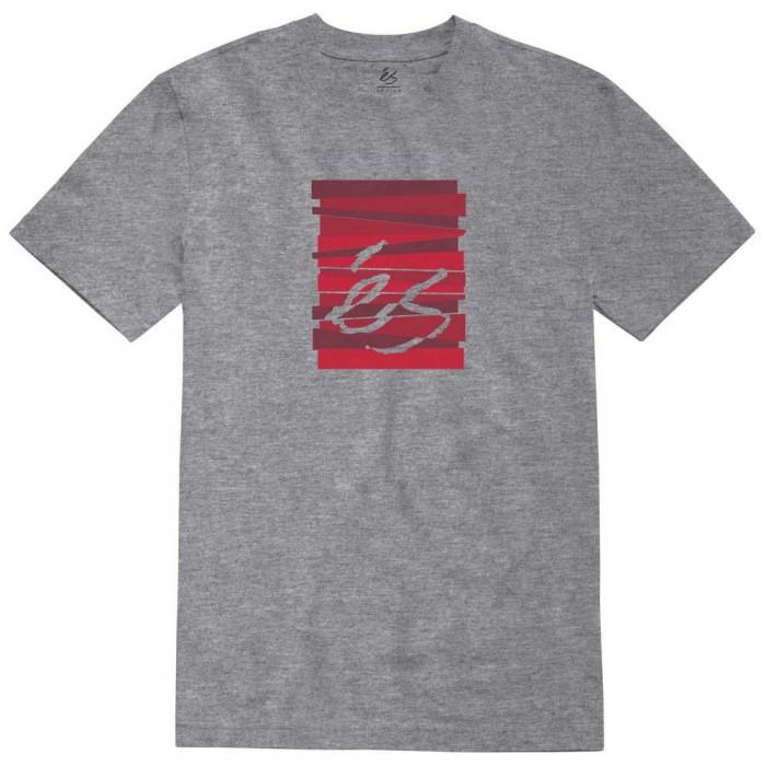 [해외]ES Shutter Block Short Sleeve T-Shirt 14138166182 Grey / Heather