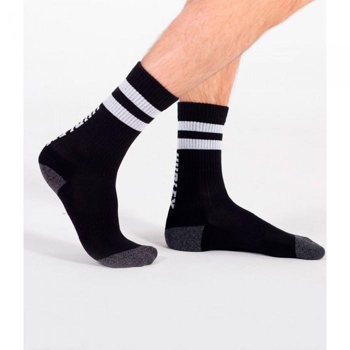 [해외]헐리 Extended Terry Crew Socks 14138238508 Black