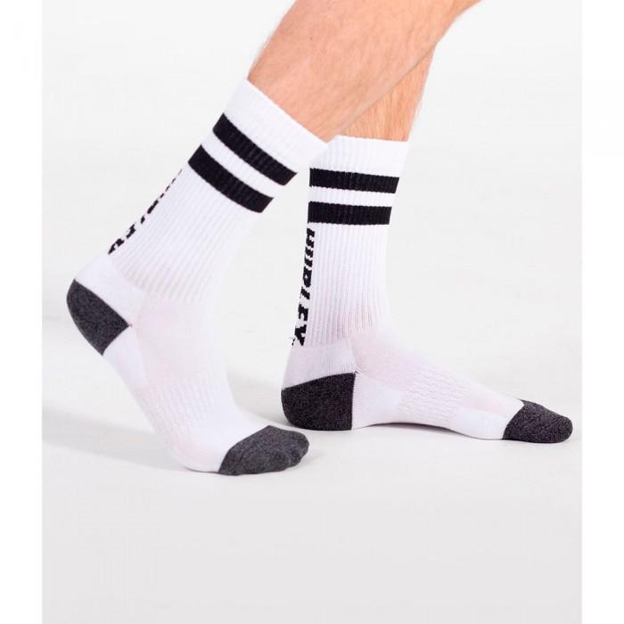 [해외]헐리 Extended Terry Crew Socks 14138238509 Black Stripe
