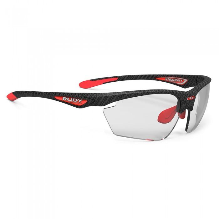 [해외]루디 프로젝트 Stratofly Photochromic Sunglasses 12136999605 Carbonium Black / Red