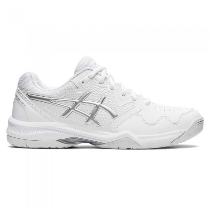 [해외]아식스 Gel-Dedicate 7 Shoes 12138131856 White / Pure Silver