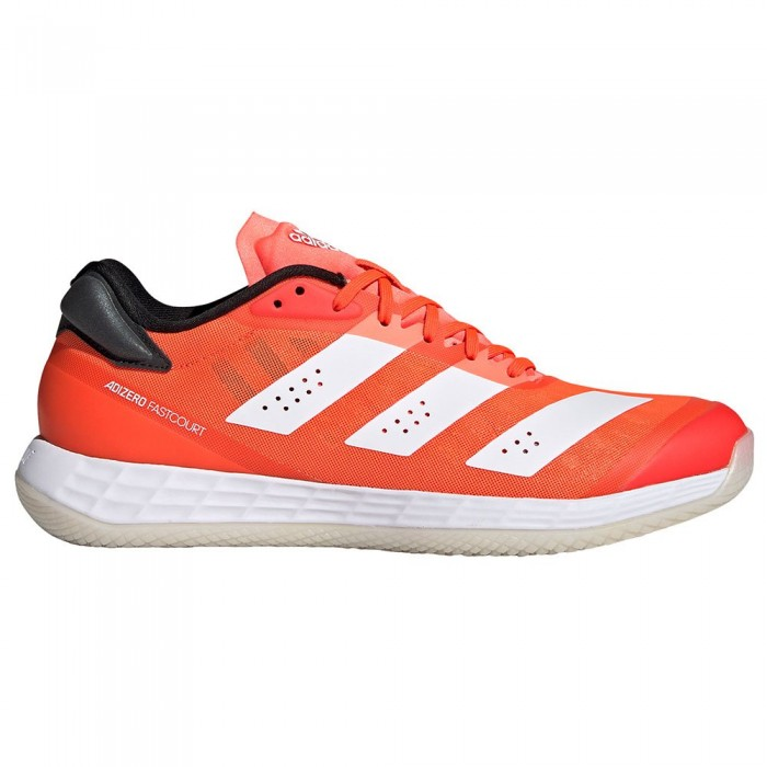 [해외]아디다스 BADMINTON Adizero Fastcourt 2.0 Indoor Shoes 12138103901 Solar Red / Ftwr White / Core Black