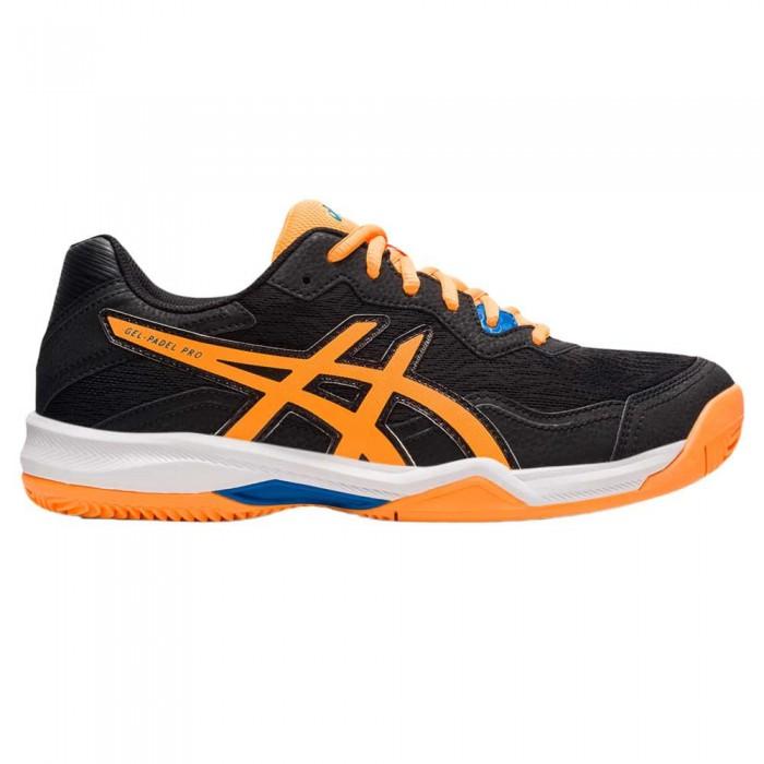 [해외]아식스 Gel-Pro 4 Shoes 12138131601 Black / Orange Pop