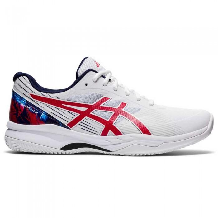 [해외]아식스 Gel-Game 8 L.E. Shoes 12138131949 White / Classic Red