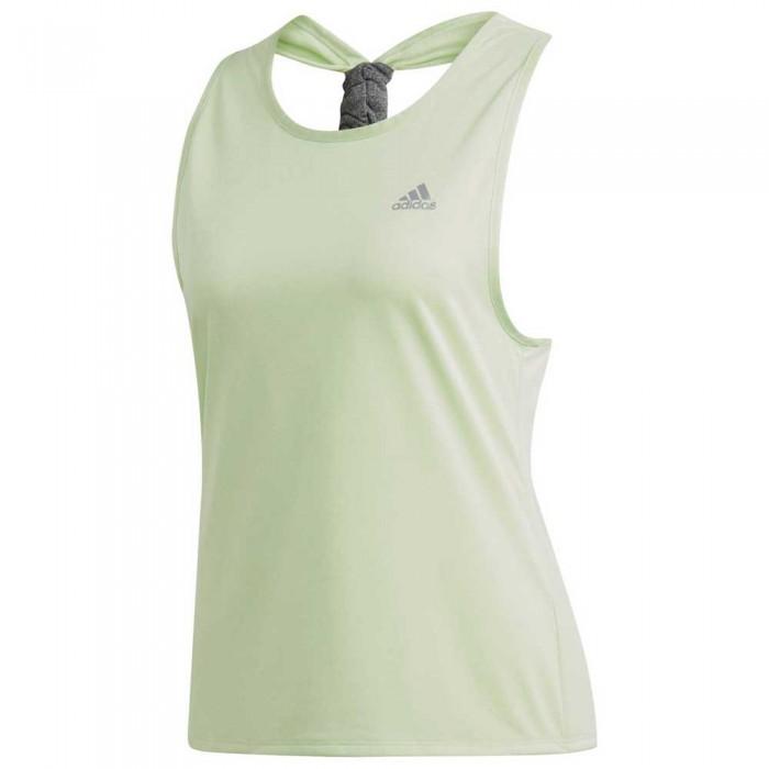 [해외]아디다스 Club Tie Back Sleeveless T-Shirt 12137314087 Bright Green