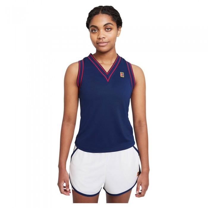 [해외]나이키 Court Dri Fit Slam Sleeveless T-Shirt 12138125886 Binary Blue