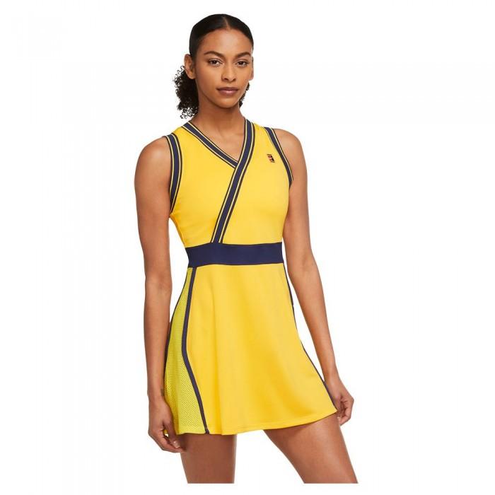 [해외]나이키 Court Dri Fit Slam Dress 12138126105 University Gold / University Gold