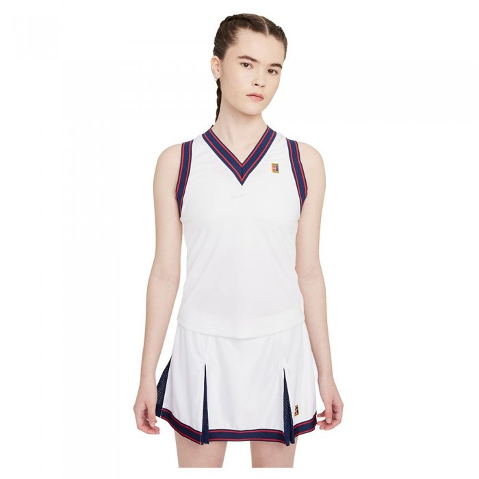 [해외]나이키 Court Dri Fit Slam Sleeveless T-Shirt 12138126120 White