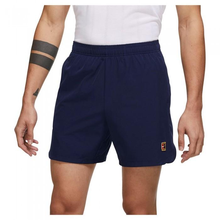 [해외]나이키 Court Dri Fit Slam Shorts 12138125799 Binary Blue / Binary Blue / Binary Blue