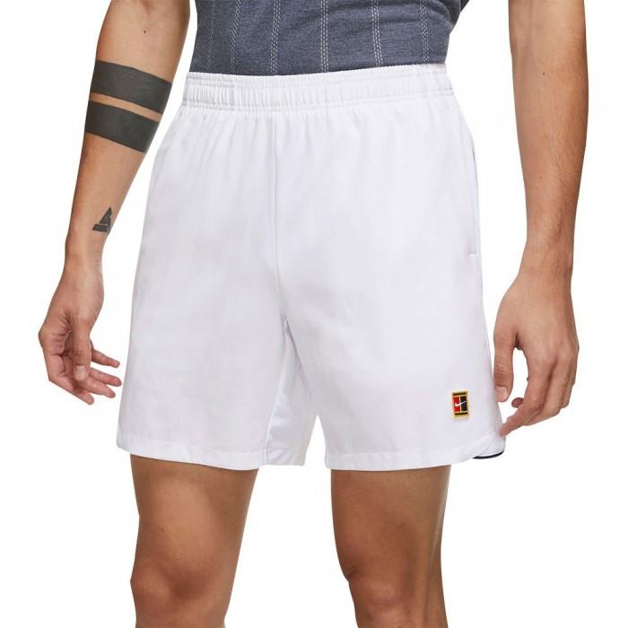 [해외]나이키 Court Dri Fit Slam Shorts 12138125963 White / White / White
