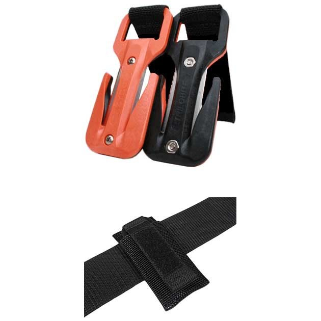 [해외]DE PROFUNDIS Eezycut Trilobite Dir 10137271486 Orange / Black Velcro