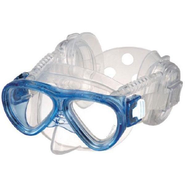 [해외]IST DOLPHIN TECH Pro Ear ME59 Junior Diving Mask Refurbished 10138232357 Blue / Transparent