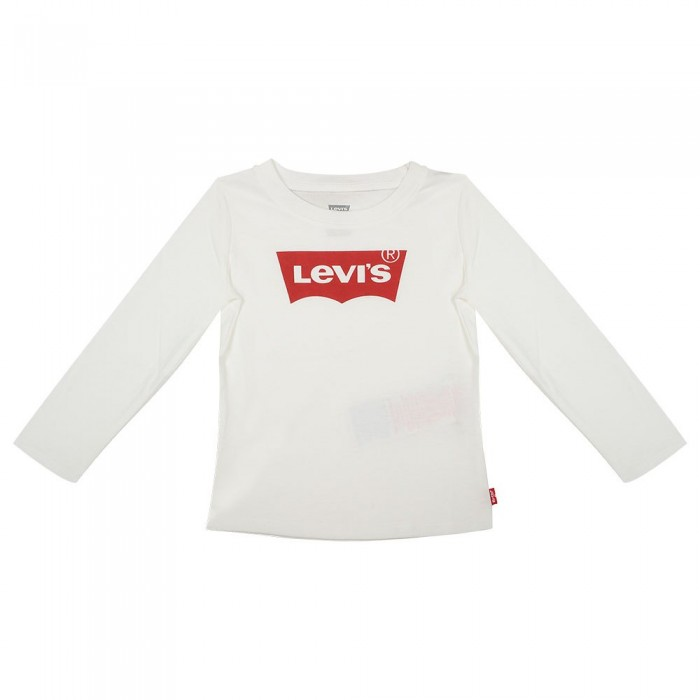 [해외]리바이스 ? KIDS Batwing Long Sleeve T-Shirt 15138005387 White