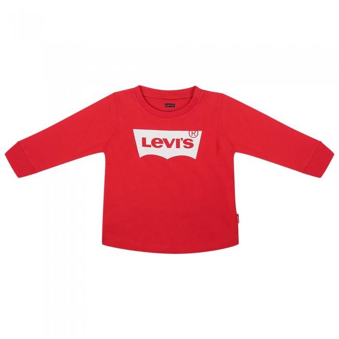 [해외]리바이스 ? KIDS Batwing Long Sleeve T-Shirt 15138145649 Superred
