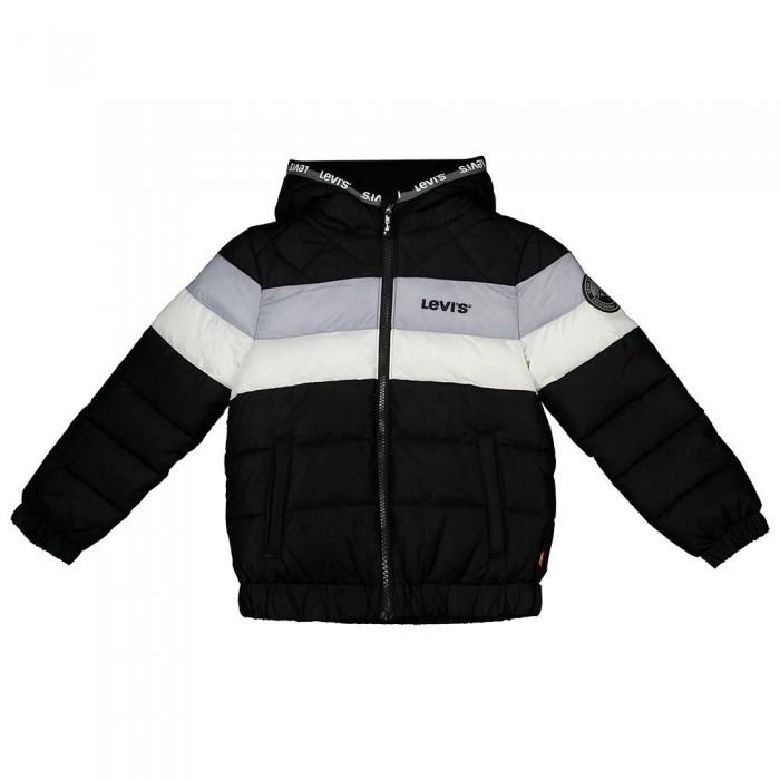 [해외]리바이스 ? KIDS Colorblock Jacket 15138145735 Black