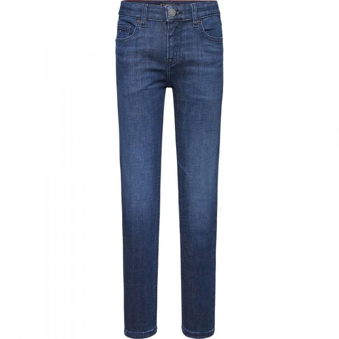 [해외]타미힐피거 KIDS Scanton Slim Jeans 15138164898 Darkusedcomf
