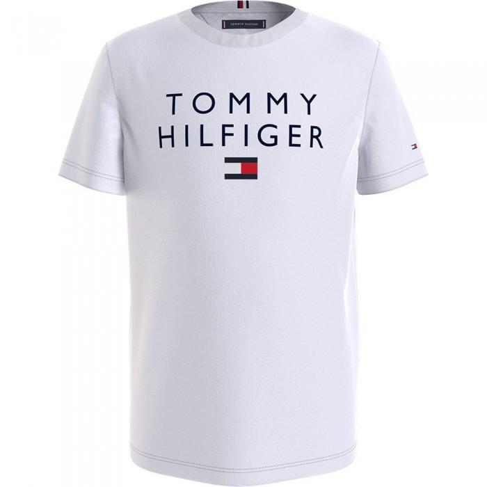 [해외]타미힐피거 KIDS Logo Short Sleeve T-Shirt 15138164900 White