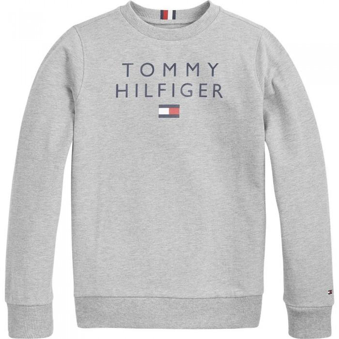 [해외]타미힐피거 KIDS Logo Sweatshirt 15138164904 Light Grey Heather