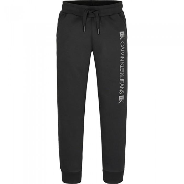 [해외]캘빈클라인 JEANS Monogram Block Logo Sweat Pants 15138226619 Ck Black