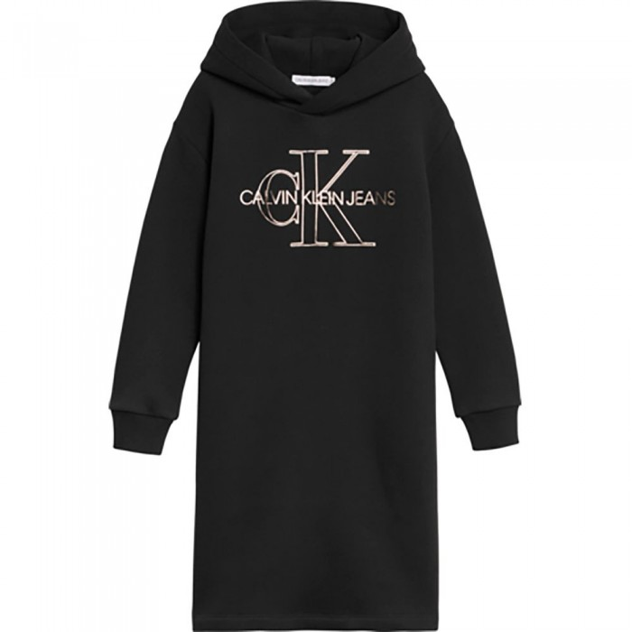 [해외]캘빈클라인 JEANS Monogram Outline Dress 15138226620 Ck Black
